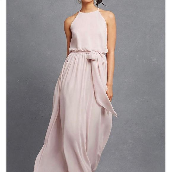 Donna Morgan Dresses & Skirts - Donna Morgan Alana Chiffon Full length dress